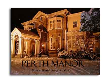 Perth Manor - Boutique Hotel and Reception Facility