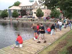 Kids Fishing Contest on the Tay Basin
