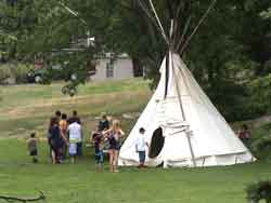 Ardoch Algonquin First Nation and Allies - Wigwam at Stewart Park Festival (2005)